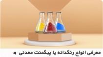 معرفی انواع رنگدانه یا پیگمنت معدنی